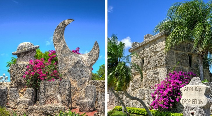 Il Castello di Corallo: la misteriosa opera di un uomo solitario con il cuore spezzato