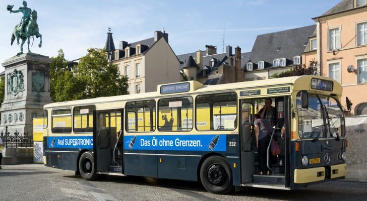 Svolta green in Lussemburgo: tutti i mezzi pubblici diventeranno gratuiti entro il 2019