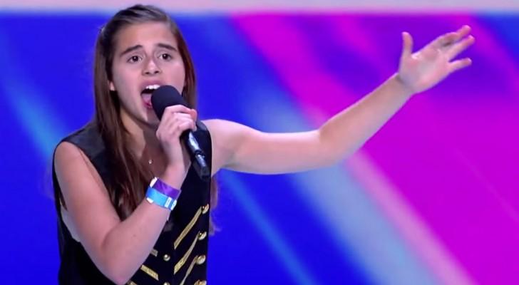Quando Carly Rose inizierà a cantare verrete letteralmente rapiti dalla sua voce