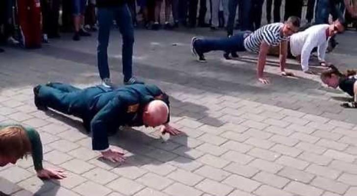 O velhinho de 77 anos desafia os mais novos