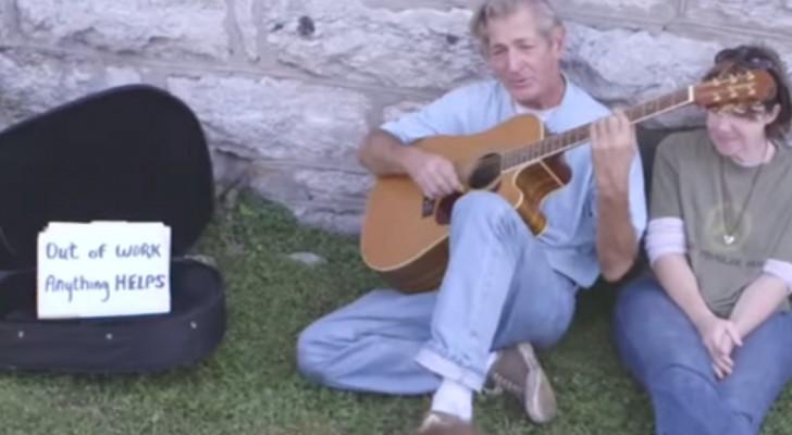 L'emozionante canzone che ha ridato una vita dignitosa al senzatetto