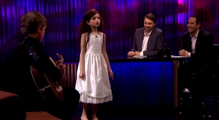 Het is onmogelijk om te geloven dat een 7 jarige jazz en klassiek kan zingen met deze diepte