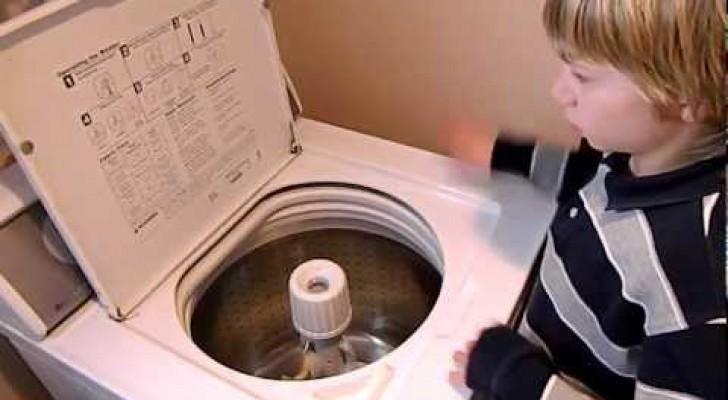Je ne pensais pas qu'une machine à laver pouvait être aussi musicale!