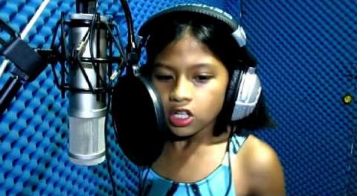 Cette petite fille vous laissera bouche bée: une mini Céline Dion de seulement 10 ans!