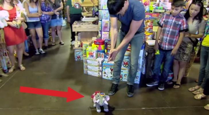 Imaginate si los muñecos iniciaran a caminar? Aqui una magia de verdad real