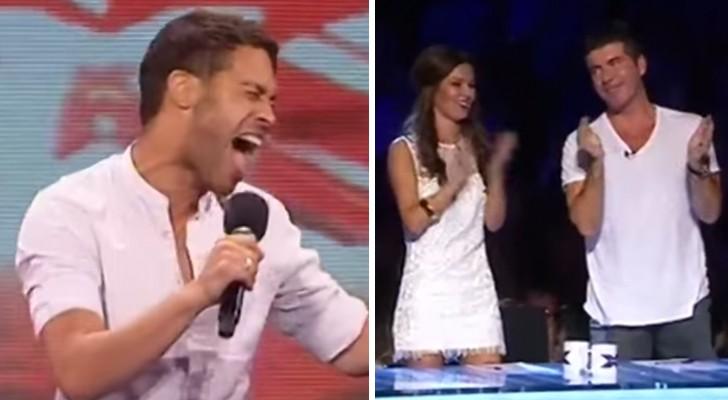 Volgens de jury, was dit de beste auditie van X Factor UK ooit