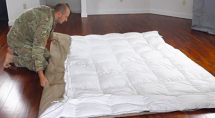 With this simple trick you'll no longer go crazy when changing the duvet cover !!