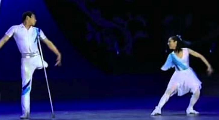 Deze twee geweldige ballerina's zullen jullie verrassen met hun spectaculaire optreden.