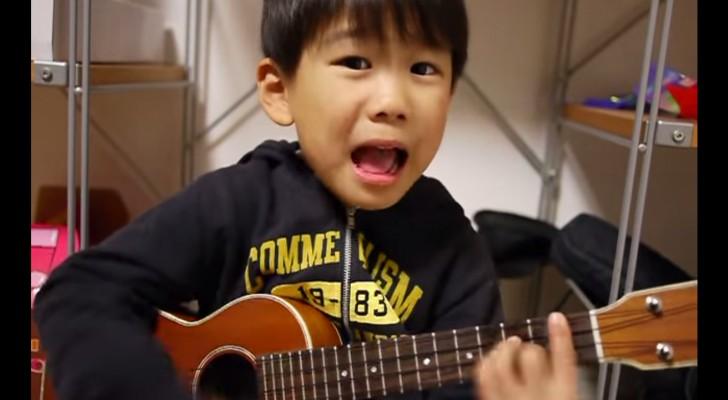 Rimarrete RAPITI appena questo bambino aprirà bocca. Simpaticissimo!