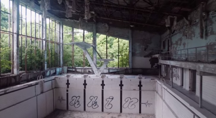 30 years after Chernobyl, here are the touching images of a ghost town !