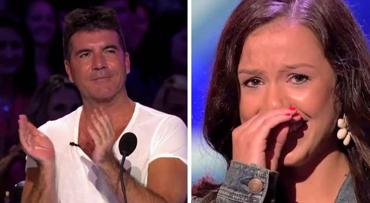Als dit meisje begint te zingen, bezorgt ze de hele studio kippenvel. Te gek!
