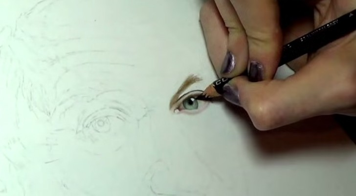 This self -taught 21-year old art student has some serious talent, Check this drawing out !