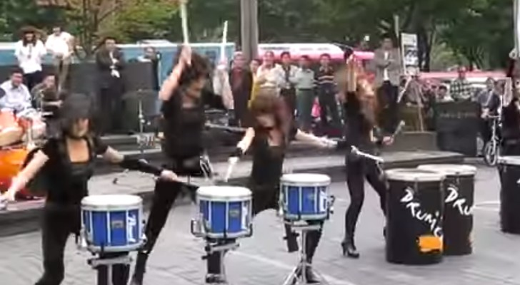 These girls have some serious talent: their performance is mind blowing !