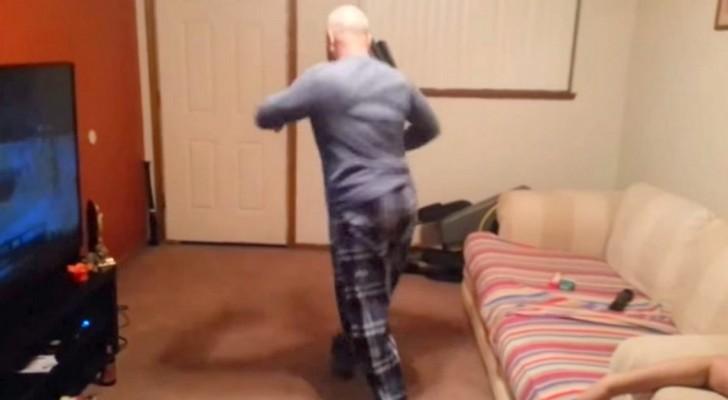 Er sagt, dass er tanzen kann, doch die Kinder glauben ihm nicht. Er gibt es ihnen!