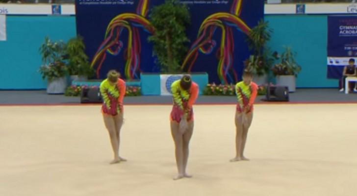 Was diese drei Sportlerinnen machen ist quasi unmöglich: Ihre Nummer wird euch überraschen!