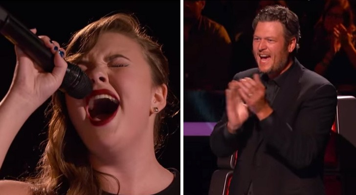 De juryleden geloofden niet zo in haar talent, totdat ze de hoge noten begon te zingen!