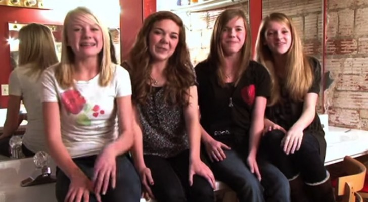 The way these 4 girls sing this classic song is unbelievable... I've got goose bumps !