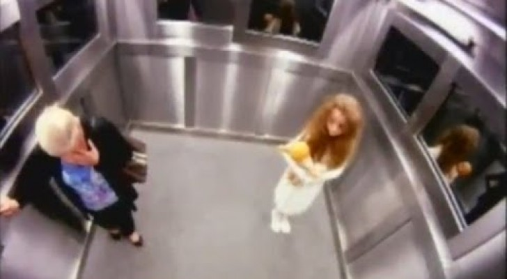 Fantasma no elevador