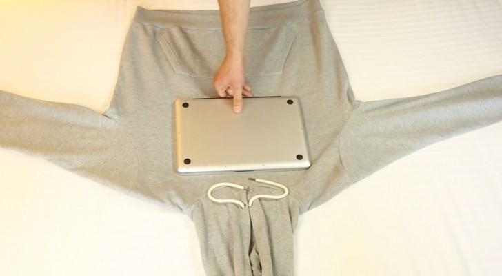 Vouw een trui om een laptop: en nog veel meer handige en onmisbare tips!