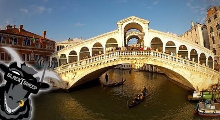 Volando sobre Venecia