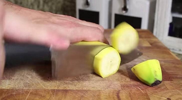 Snijd Een Banaan In Plakken En Houd Insecten Op Een Afstand!