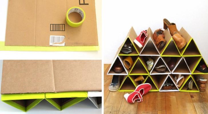 Scopri come riciclare i cartoni in maniera ingegnosa for Costo dei materiali per costruire una casa