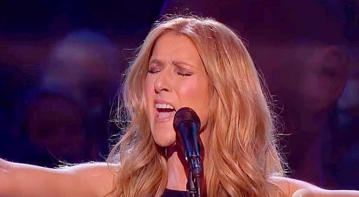 Celine Dion canta uma música para as vítimas de Paris