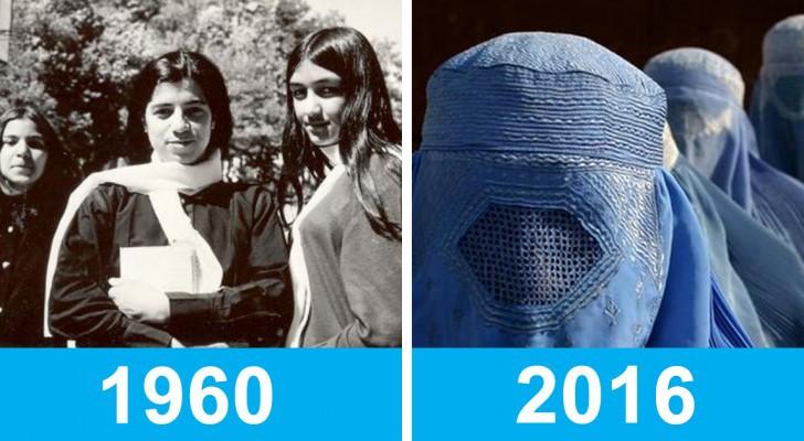Jullie weten hoe Afghanistan er vandaag de dag uitziet, maar als je ziet hoe het er 50 jaar geleden uitzag zou je het niet geloven