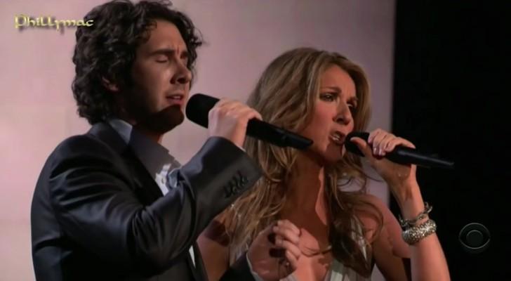 Ze zongen dit lied samen toen hij 17 was: hun duet is nog steeds betoverend