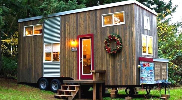 Compra un vecchio caravan e lo trasforma in una casa for Trova la casa perfetta