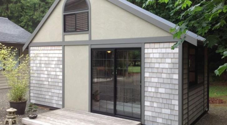 Dit huis lijkt erg klein, maar zodra je de deur opendoet, zal je er halsoverkop verliefd op worden!
