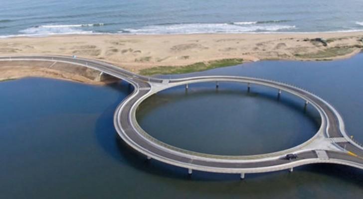 En Uruguay, un pont circulaire a été construit: la raison est fascinante