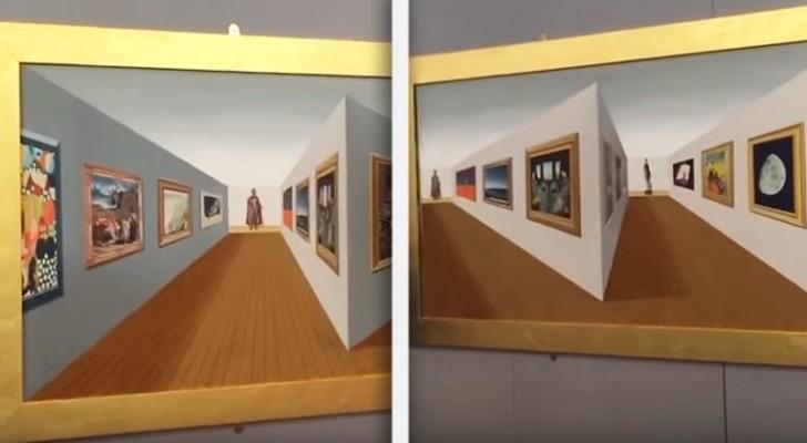 Bekijk dit kunstwerk in perspectief: je hersens zullen ervan tollen!