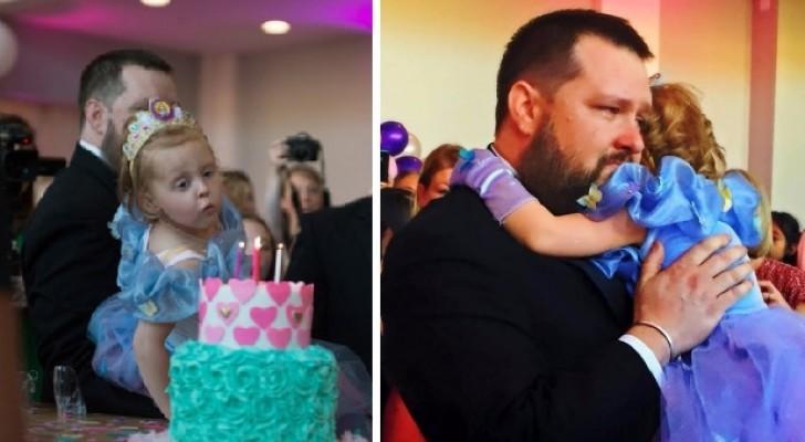 Die Eltern beschlossen, ihr für ihren letzten Geburtstag das Fest ihrer Träume zu schenken