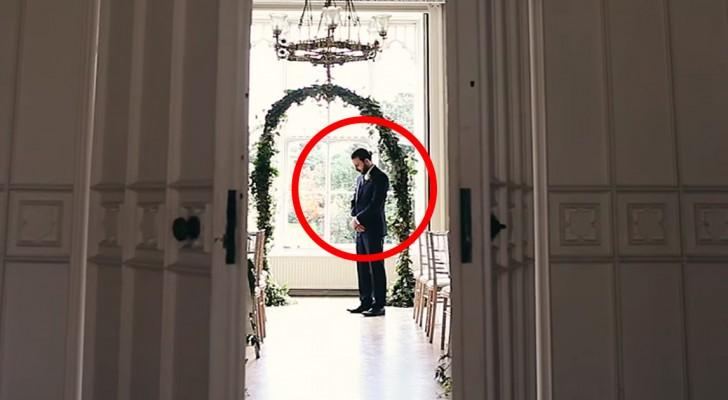 Es sieht wie eine ganz normales Hochzeit aus, wenn nicht dieses furchtbare Detail wäre...