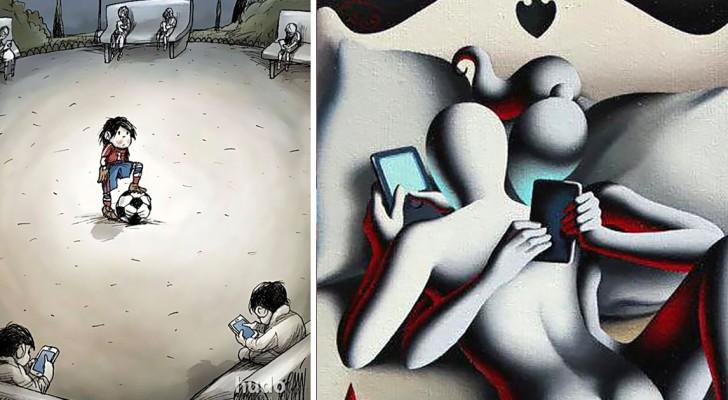 Schiavi della tecnologia? Queste immagini ci mostrano la crudele realtà