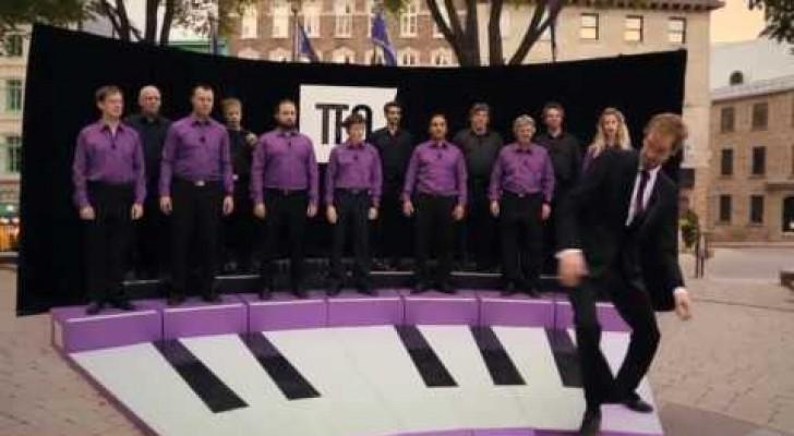 Das lebende Piano / Le piano vivant