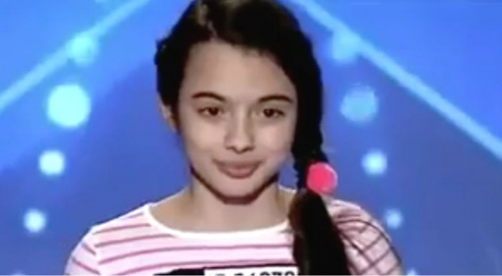 A 13-year-old girl comes on stage --- You must listen to her voice --- the judges are completely BEWITCHED!