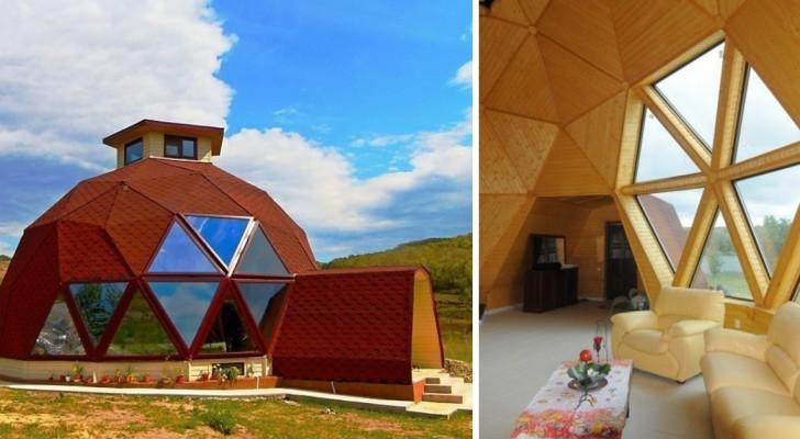 La cupola geodetica un modello di casa alternativo ed for Materiali da costruzione di casa modello