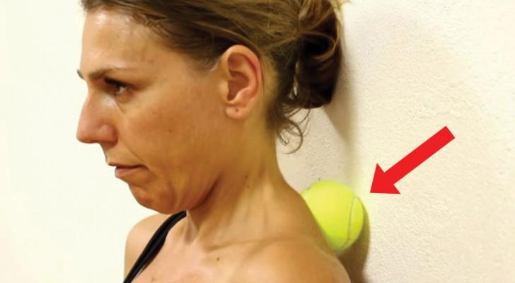 Aperta uma bolinha de tênis contra a parede: seis minutos mais tarde, parece outra pessoa