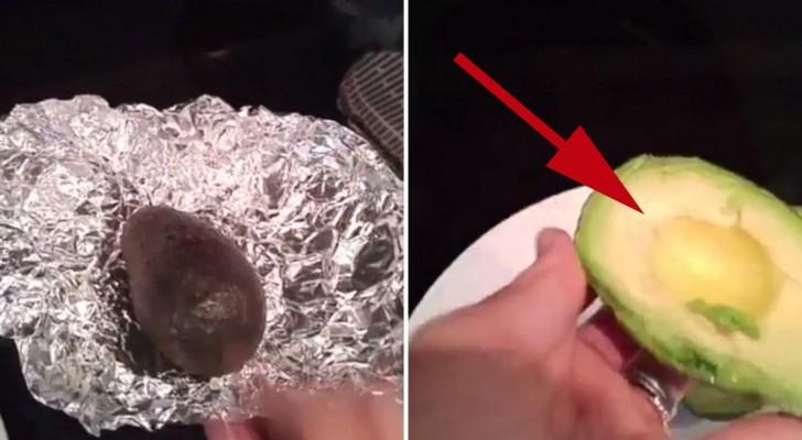 Lär dig att få en avokado att mogna på bara 10 minuter!