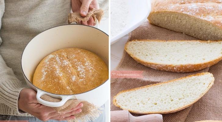 Apprenez à préparer un délicieux pain fait maison en quelques minutes