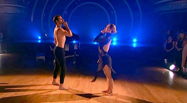 He cannot hear the music, but TOGETHER  they perform mind-boggling choreography!