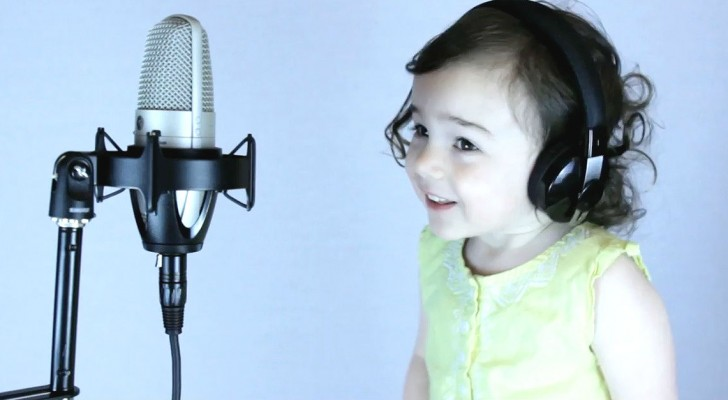 Dad covers a classic 1985 song --- and when his daughter joins in . . . WOW!