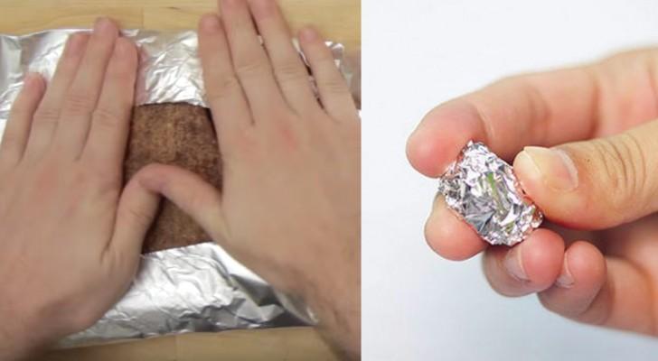 5 Nutzungsweisen des Silberpapiers, die ihr vielleicht nicht kanntet und die wirklich sehr hilfreich sind
