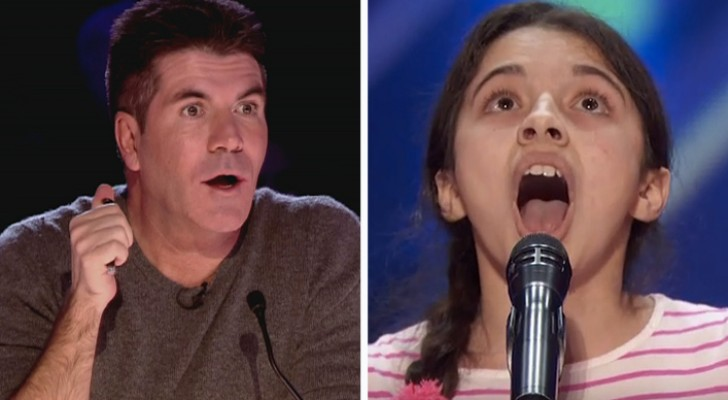 A terrified girl comes on stage --- but soon it will be the judges who are shocked!