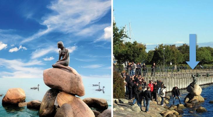 Questione di punti di vista: 15 luoghi famosi visti da una prospettiva insolita... e impietosa