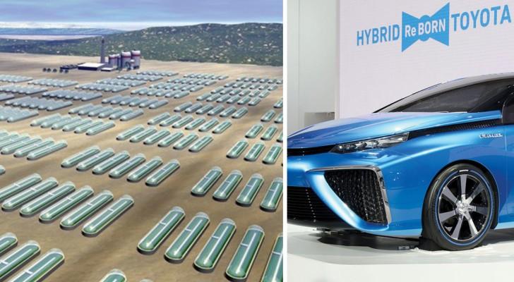 Una società scopre come produrre idrogeno usando acqua e raggi solari