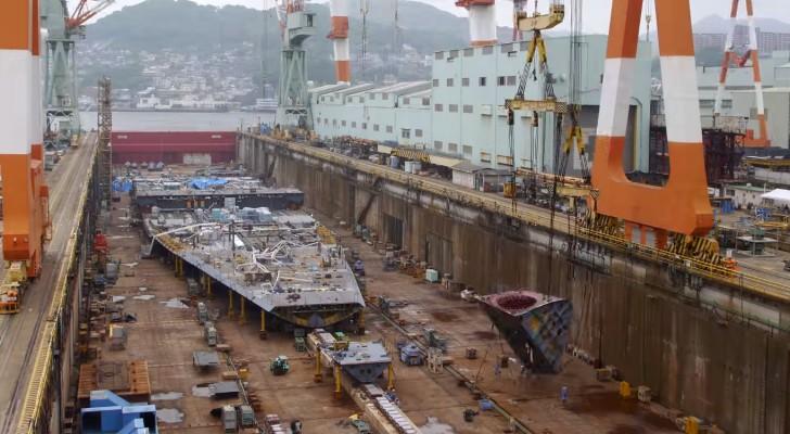 Como comienza a tomar vida una nave de 600 millones de euros? Este fascinante video nos lo revela