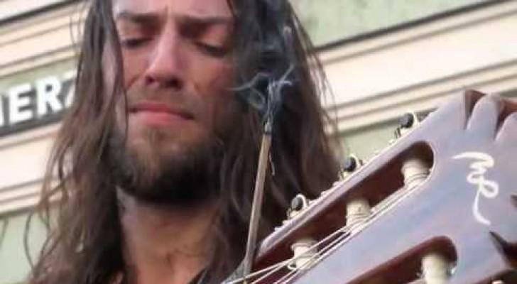 Une mélodie émouvante, un guitariste fantastique